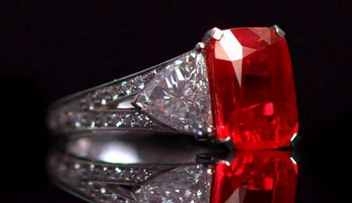 Cincin ruby berharga mahal