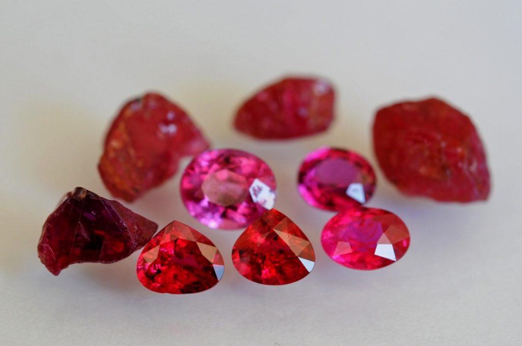 Jenis ruby mouzambiq