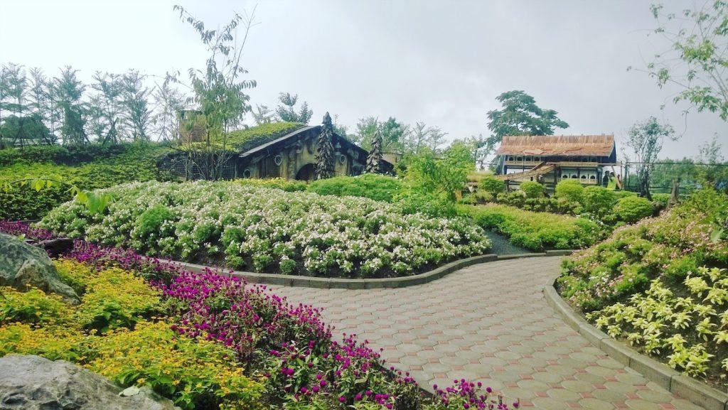 Liburan ke taman bunga bandung